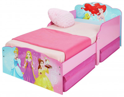 Argos Product Support For Disney New Princess Toddler Bed With