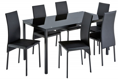 new concept aed76 d2e6b Argos Product Support for Hygena Lido Glass Dining Table and ...