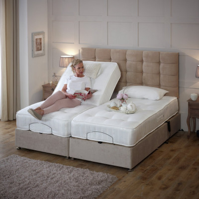 innovative design 299f9 a5907 Argos Product Support for Imperial Super King Adjustable Bed ...