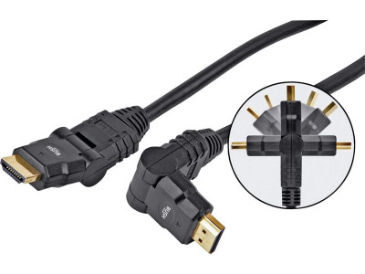 Argos Product Support For Bush Free Angle Hdmi Cable 1 5m 108 0555