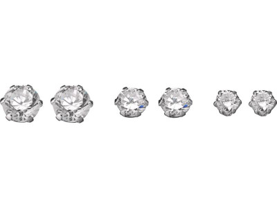 df8fe4844 Argos Product Support for Revere Sterling Silver Cubic Zirconia Set ...
