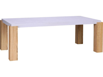 argos product support for two tone white & oak coffee table (227/6605)