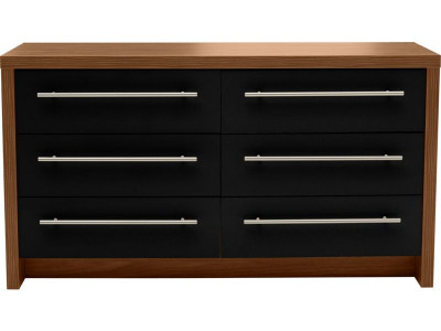 Argos Product Support For New Hygena Camden Drawer Chest - Black gloss chest of drawers