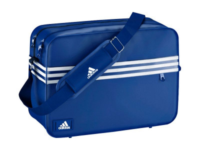 Argos Product Support for ADIDAS ENAMEL BLUE MESSENGER (239 6884) 3f7aa65434bf4