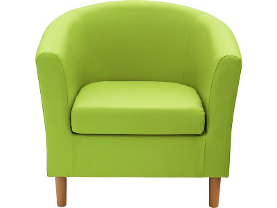 argos product support for colourmatch fabric tub chair apple green