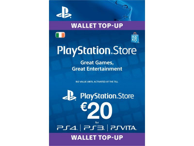 Argos Product Support For Sony Playstation Network Card 20 Euro 262
