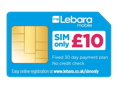 Argos Product Support for LEBARA CONTRACT SIM (343/3423)