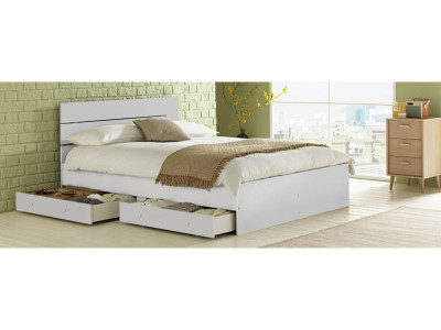 Argos Product Support for HOME Bedford Double 4 Drawers Bed Frame ...