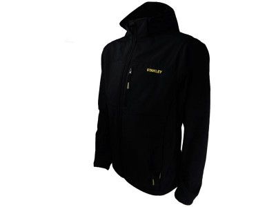 Stanley Workwear Andes Softshell Black Full-Zip Jacket
