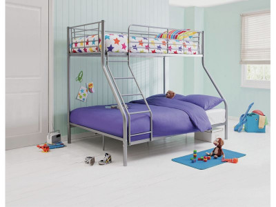 Argos Product Support For Home Lucas Triple Bunk Bed With Kids