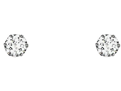 f8fe5d69c043b Argos Product Support for Sterling Silver Cubic Zirconia Studs ...