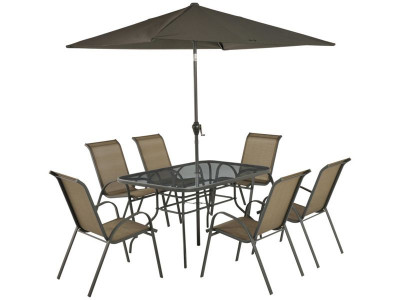 Support options - Argos Product Support For Sicily 6 Seater Patio Set - Bronze (457/9661)