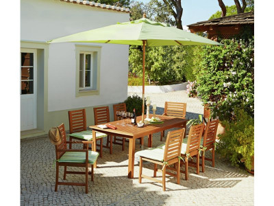 Support options & Argos Product Support for Collection Madison 8 Seater Wooden Patio ...