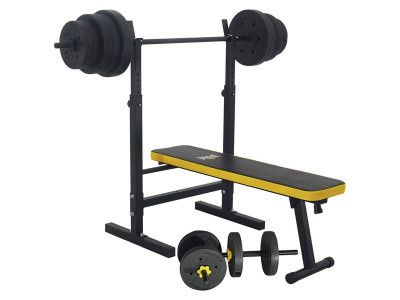 Argos Product Support For Everlast Folding Bench With 50kg Weights