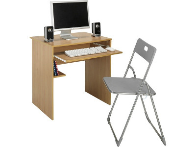 Magnificent Argos Product Support For Office Desk And Chair Set Beech Gmtry Best Dining Table And Chair Ideas Images Gmtryco
