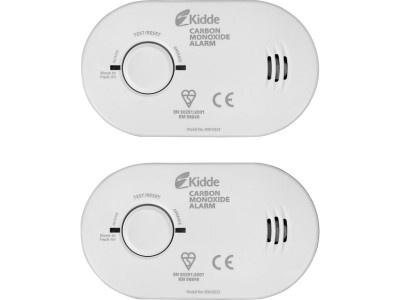 Kidde Carbon Monoxide Basic Alarm Twin Pack