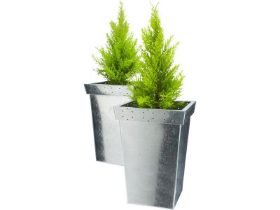 Argos Product Support for Zinc Patterned Planters - Twin ... on urn planters, old planters, pewter planters, long rectangular planters, large planters, chrome planters, resin planters, bucket planters, plastic planters, corrugated raised planters, round corrugated planters, wall mounted planters, copper finish planters, iron planters, tall planters, aluminum planters, stone planters, stainless steel planters, window boxes planters, lead planters,