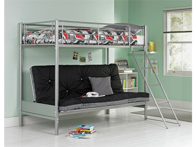 Argos Product Support For Home Metal Bunk Bed Frame With Futon