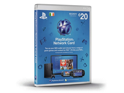 Argos Product Support For Playstation Network 20 Euro Card 909 7540
