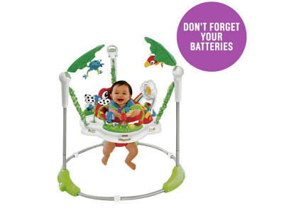 086758376 Argos Product Support for Fisher-Price Rainforest Jumperoo Baby ...