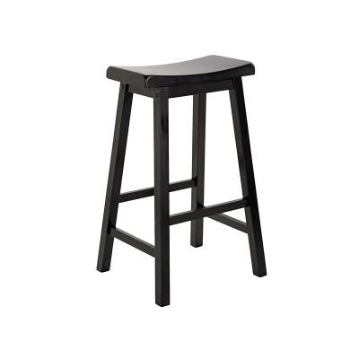 Surprising Argos Product Support For Hygena Solid Wood Saddle Bar Stool Creativecarmelina Interior Chair Design Creativecarmelinacom