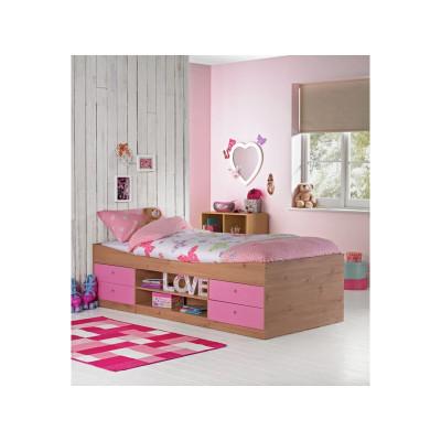 Malibu Single Cabin Bed With Bibby Mattress