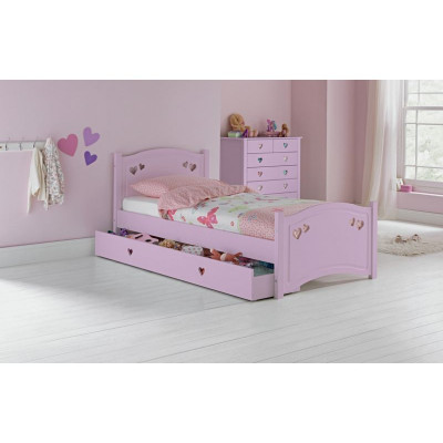 Mia Single Bed Frame With Ashley Mattress