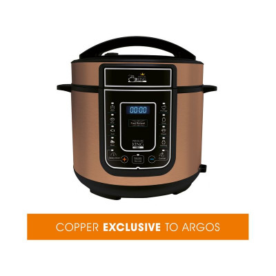 5l pressure king pro copper 12 in 1 digital pressure cooker argos support   find support manuals user guides and videos for      rh   argos support co uk