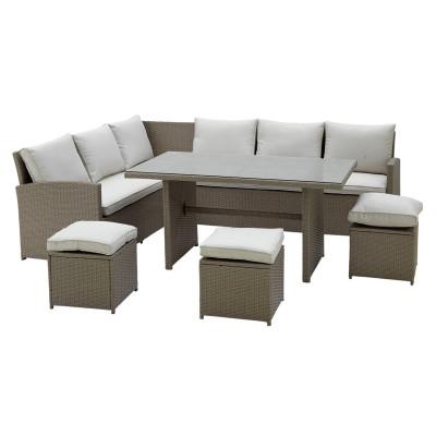 Argos Product Support For Rattan Effect Mini Corner Sofa
