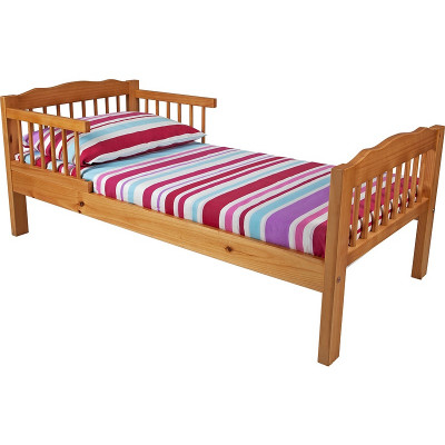 Antique Pine Toddler Bed Frame