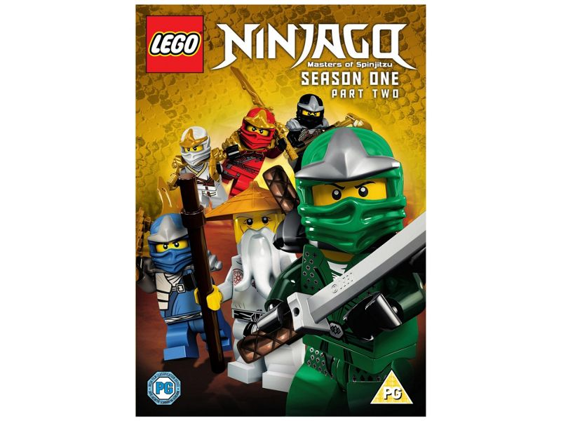 Picture of 5000201566 Lego Ninjago Masters of Spinjitzu - Season one - part two by artist Childrens